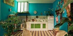 "Moroccan Kitchen styled by Stephan Janson; mostra ""Corian® Cabana Club"" (Milano, 3-9 aprile 2017); foto Filippo Pincolini."