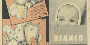 Anonimo dal Fondo Cozzolino, Rinascente Bianco, Fascicolo pubblicitario, stampa tipografica 1935