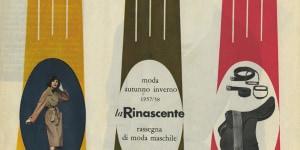 BLora Lamm, Sfilata di modelli autunno inverno 1957/58, stampa tipografica