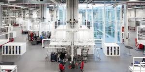 Polo Tecnologico nello stabilimento di Allendorf, Germania.