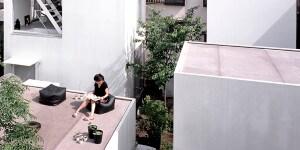 Moriyama House, Tokyo, Japan. Architect: RYUE NISHIZAWA, 2006.