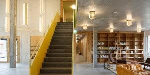 20_Bibliothek_Cooperative Kalkbreite_ZÅrich_2014_MÅller Sigrist Architekten_c_MÅller Sigrist Architekten_Foto_Martin Stollenwerk