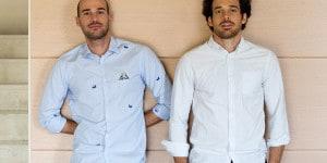 Alessandro e Lorenzo Maniero, fondatori dell'azienda