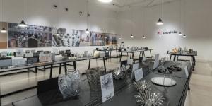 L'allestimento della mostra Alessi IN-possible – Before an idea is brought to life alla Triennale di Milano nel dicembre 2016