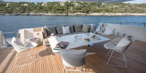 Lo yacht SL118 Haiia di Sanlorenzo