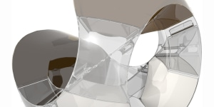 Alessi, Acconci Studio, Tea/Coffee Towers set, 2003