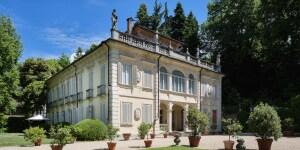 Villa d'Agliè. Foto Luisa Porta - Daniele Ratti
