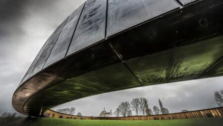 """Premio Internazionale Dedalo Minosse alla Committenza di Architettura 2017 a Philippe Prost, committente la Regione Hauts de France, per la realizzazione dell'opera """" The ring of remembrance"""""""