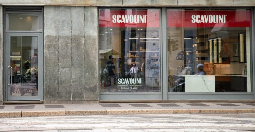 Scavolini store milano missori riccieri e cappelli for Scavolini milano