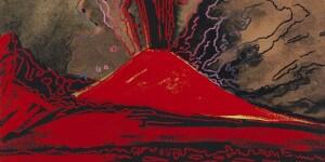 Andy Warhol. Vesuvius, 1985. Courtesy AICA | Andrea Ingenito Contemporary Art