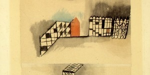 Paul Klee. Freieres in fester kleinteilung (freer objects in rigid segmentation), 1928. Courtesy Vitart