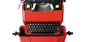 Valentine, Typewriter Ettore Sottsass and Perry A. King, 1969 Manufacturer: Olivetti Photo: Alberto Fioravanti Courtesy: Studio Ettore Sottsass