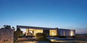 Villa presso Noto, progetto di Marco Merendi. Ph di Alberto Ferrero