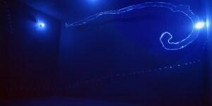 Lucio Fontana Ambiente spaziale, 1967 Colori fosforescenti e luce di Wood Foto: Stedelijk Museum, Amsterdam © Fondazione Lucio Fontana