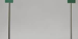 Lampada Pausania ideata nel 1983 da Ettore Sottsass per Artemide