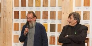L'architetto Michele De Lucchi e Maurizio Riva