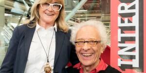 Gilda Bojardi con Giampiero Mughini.