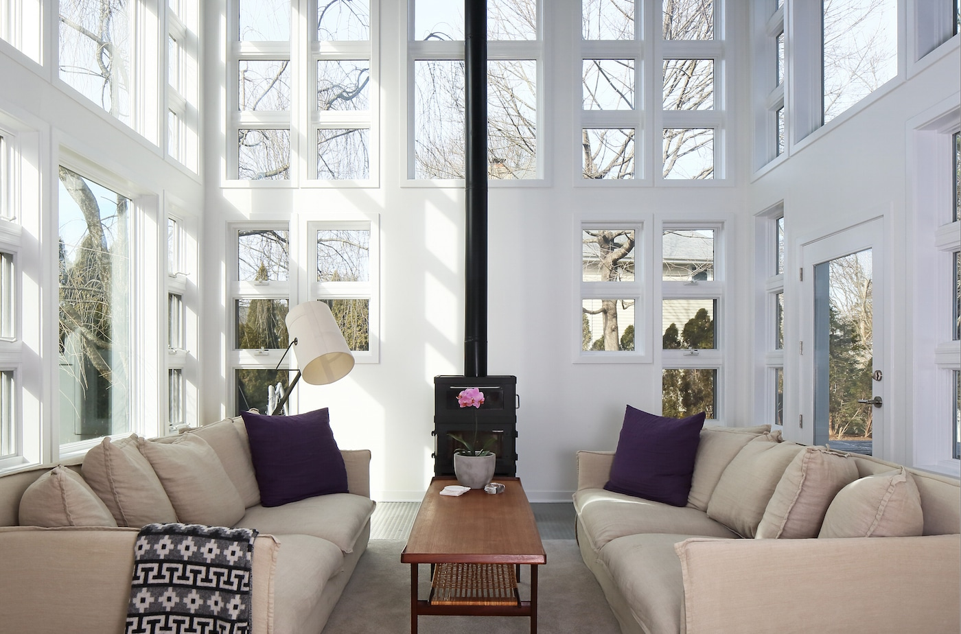 Chic minimalista in connecticut interni magazine - Decoratrice di interni ...