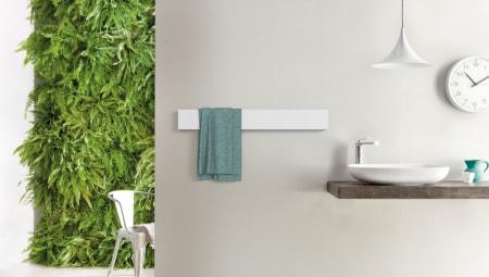 Il nuovo scaldasalviette elettrico in alluminio Towel Bar della Classic Collection Ridea