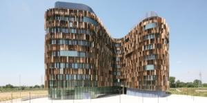 Cino Zucchi Architetti - CZA: Gruppo M Headquarters, Assago, Milano (Italia), 2007/2011.