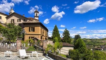Storia e benessere interni magazine for Villa del borgo canelli