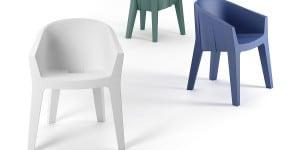 Frozen Chair, Matteo Ragni e Maurizio Prina, Plust Collection.