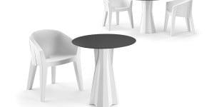 Frozen Dining Table, Matteo Ragni e Maurizio Prina, Plust Collection.