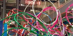 Yona Friedman, Street Museum, 2017, veduta dell'installazione, Centre Georges Pompidou, Parigi, 2017
