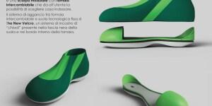 1° classificato: progetto DB-Shoes, scarpa per piede diabetico, Carmen Ianiro, ISIA di Pescara