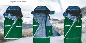 2° classificato: progetto Koi, indumento trasformabile, Iryna Kucher e Luisa Eckert, ISIA Roma (sede di Pordenone)