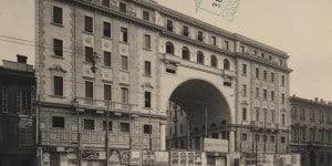 Palazzo della Società Buonarroti Carpaccio Giotto di Piero Portaluppi - corso venezia 42-44-1926-30