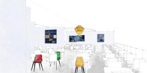 Ristorante, progetto Vudafieri-Saverino Partners