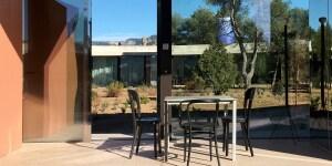 Solo Houses, holiday home nella campagna catalana. Progetto di Kersten Geers e David Van Severen dello studio Office KGDVS