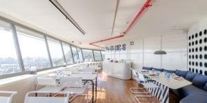 Marea Alta, ristorante a Barcellona al 23 e 24 piano del grattacielo Colón