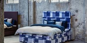 Il letto Appaloosa, presentato al Salone del Mobile 2017. Design Bernadotte&Kylberg.