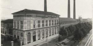 Centrale termoelettrica di piazza Trento_Antonio Paoletti_anni Venti_Archivio storico fotografico Aem