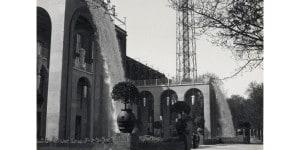 Fontane installate da Aem in occasione della VII Triennale_Antonio Paoletti_1940_Archivio storico fotografico Aem
