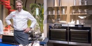 Lo chef Andrea Berton.