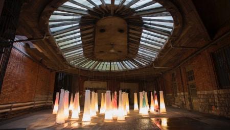 Installazione di Antonio Marras alle ex Cantine Folonari di Brescia