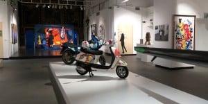 01_A modo mio. Nespolo tra arte, cinema e teatro_installation view al Centro Saint-Bénin_Aosta_preview