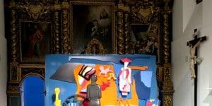 03_A modo mio. Nespolo tra arte, cinema e teatro_installation view al Centro Saint-Bénin_Aosta_preview