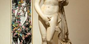 """Afrodite Cnidia. Pannello """"Venere"""" di Fornasetti. Museo Nazionale Romano-Palazzo Altemps ©Electa ph S. Castellani"""