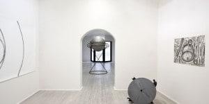 Galleria Poggiali_Eliseo Mattiacci_Misurazioni veduta d'insieme_2017_preview