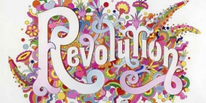 'Revolution', Alan Aldridge/Harry Willock/Iconic Images, 1968 .