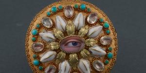 Orologio da tasca, Moricand et De Grange, Ginevra 1830, Oro, smalto, quarzi e turchesi, inv. 5993 © Milano, Museo Poldi Pezzoli