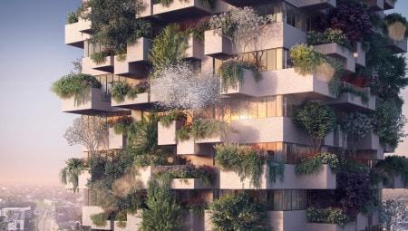 Stefano Boeri Architetti_Eindhoven Trudo Vertical Forest_2018_facade view