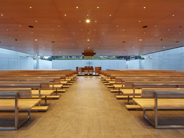 Lo Spazio interno della cappella