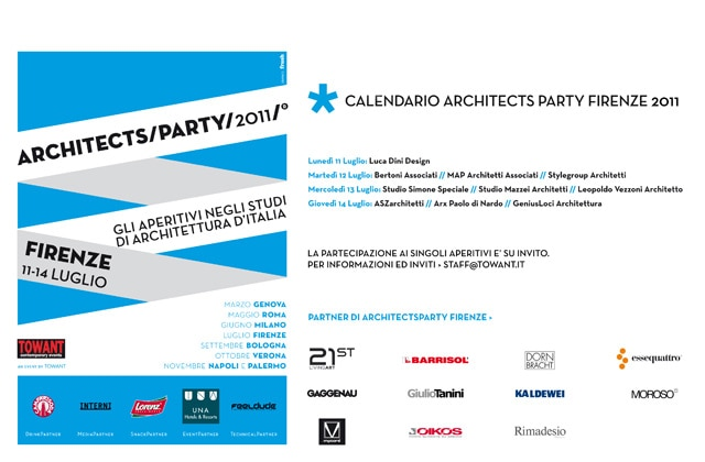 Architects Party Firenze