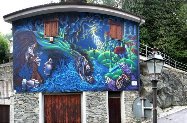 L'arte urbana riscopre le tradizioni