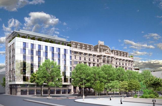 Progetto per il nuovo Hotel Gallia a Milano